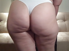 Thick Booty Hottie In White..