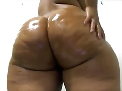 Oily gigantic yummy booty