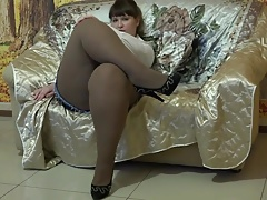 Fantastic Plus-size In Tights