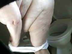 Ample ex MIL bathing filmed..