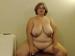 Obese in glasses