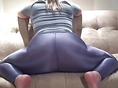 Scorching Latex Leggings..
