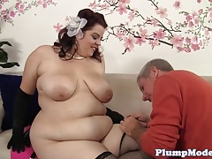 Alluring bbw screwed in..