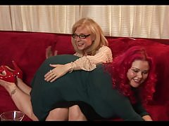 Mature and Plumper Lesbos..