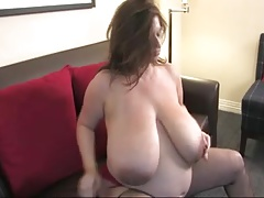 Maria Moore is ample and prego