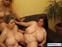 Plus-size mature damsels
