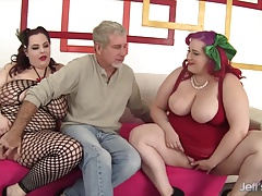 BBWs Eliza Allure and Jordan..