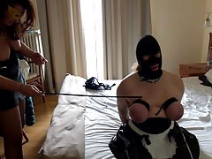 Session with mistress: shot..